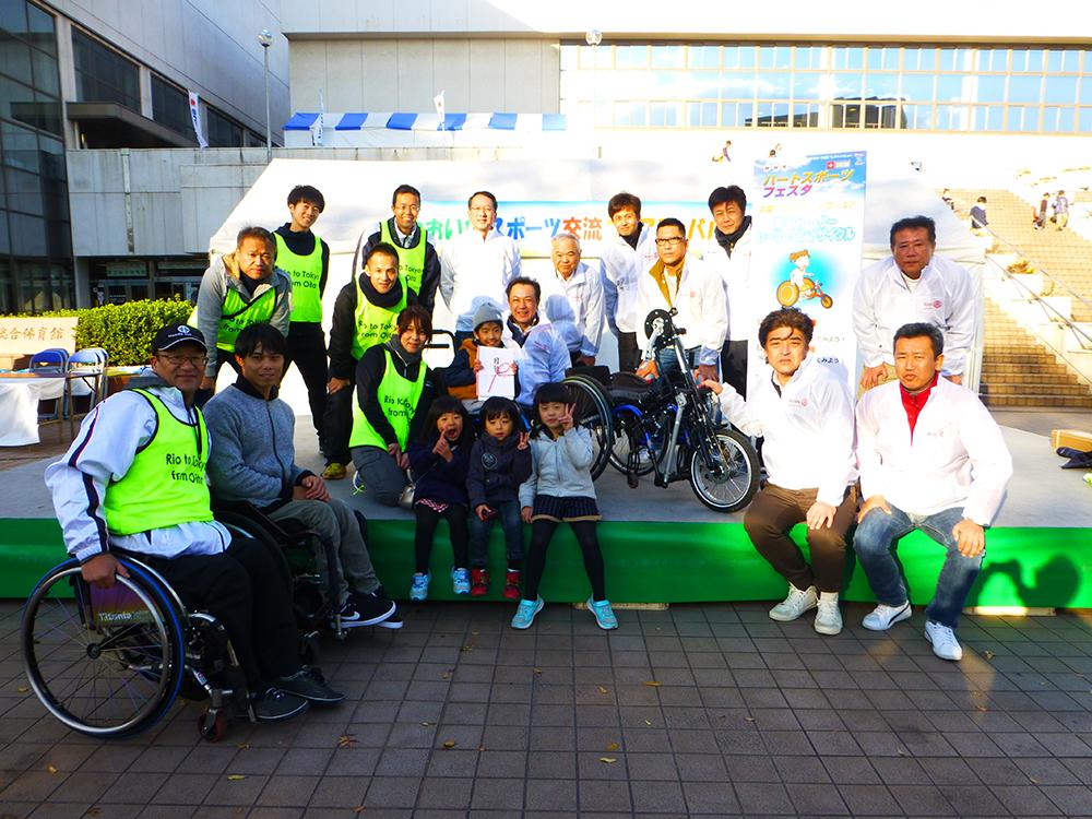 地区補助金プロジェクト 「わき愛愛スポッチャ(障害のある子どもたちのスポーツ)の支援」の報告